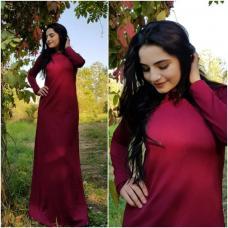 Платье базовое, в чёрном цвете